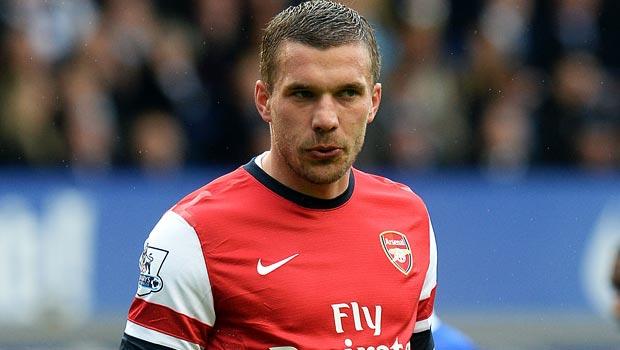 """Lukas Podolski cho rằng sẽ là một """"thảm họa"""" nếu Arsenal"""