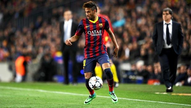 Tiền đạo Neymar của Barcelona