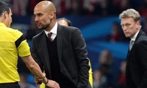 Huấn luyện viên Pep Guardiola của Bayern Munich