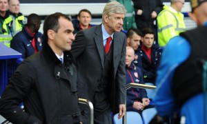Huấn luyện viên Roberto Martinez của Everton