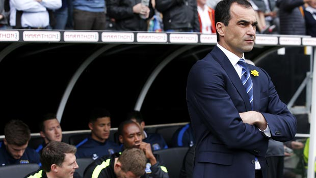 HLV Roberto Martinez của Everton - Champions League