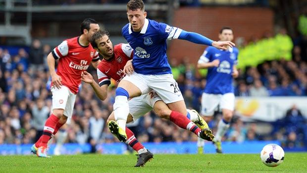 Tiền vệ Ross Barkley của Everton