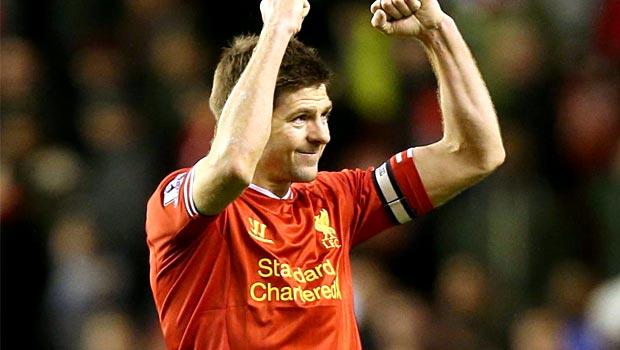 Steven Gerrard Ngoại Hạng Anh Liverpool