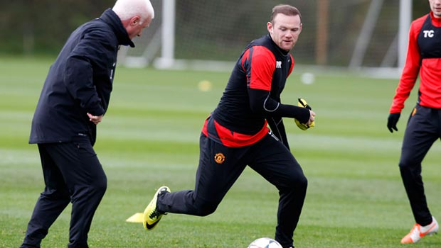 Wayne Rooney Bóng Đá Man United Champions League