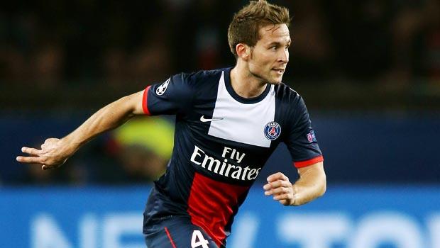 Yohan Cabaye Paris Saint-Germain champions league