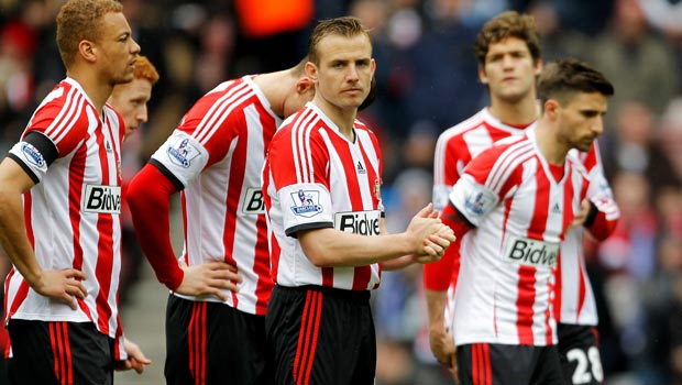 Lee Cattermole Ngoại Hạng Anh Sunderland-team-mates