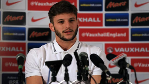 Adam Lallana England World Cup