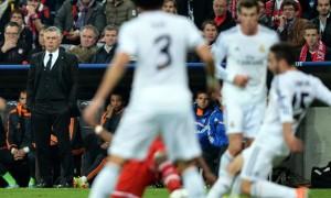 HLV Carlo Ancelotti của Real Madrid Bóng Đá Tây Ban Nha