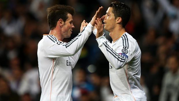 Cristiano Ronaldo và Gareth Bale cua Real Madrid   Bóng Đá