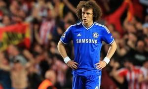 Hậu vệ người Brazil David Luiz của Chelsea