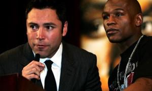 Cả hai võ sĩ Floyd Mayweather và Oscar De La Hoya