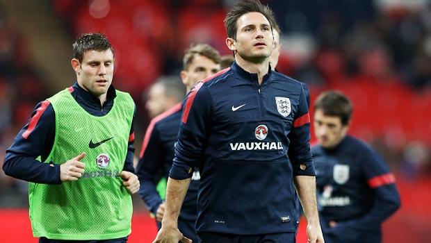 Frank Lampard của đội tuyển Anh