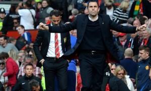 Huấn luyện viên Gus Poyet của Sunderland