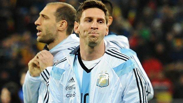 Lionel Messi của Argentina Bóng Đá