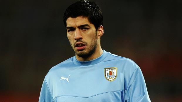 Luis Suarez của đội tuyển Uruguay