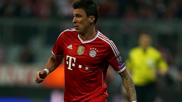 Mario Mandzukic cua Bayern Munich Bóng Đá