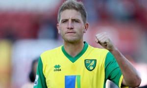 Hậu vệ Michael Turner của Norwich