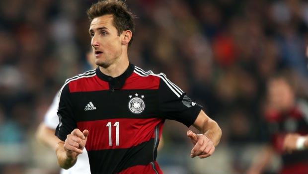 Miroslav Klose cua đội tuyển Đức