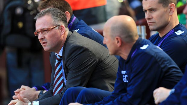 Paul Lambert Aston Villa manager