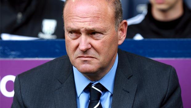 Huấn luyện viên Pepe Mel của West Brom