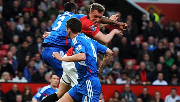 Phil Jones của đội tuyển Anh Bóng Đá