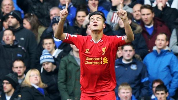 Cầu thủ kiến người Brazil Philippe Coutinho của Liverpool  world cup