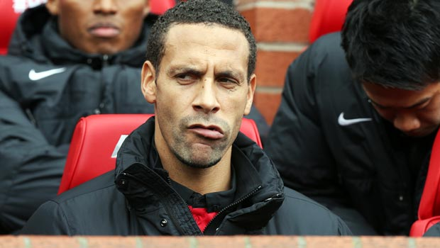 Hậu vệ Rio Ferdinand của Manchester United