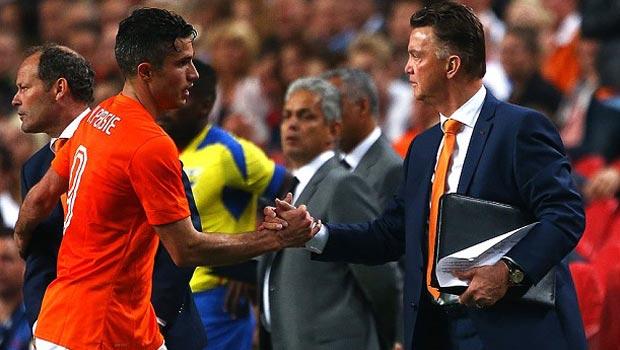 Robin van Persie -  Louis van Gaal của đội tuyển Hà Lan