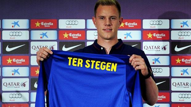 Thủ môn mới của Barcelona là Marc-Andre terStegen
