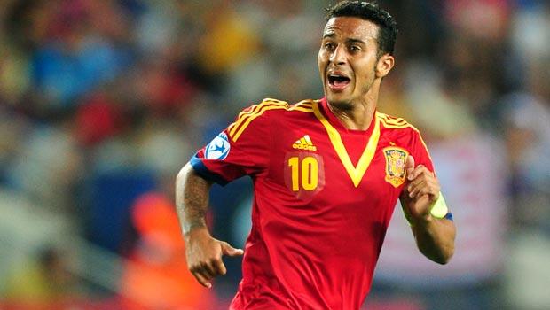 Thiago Alcantara - Spain World Cup 2014