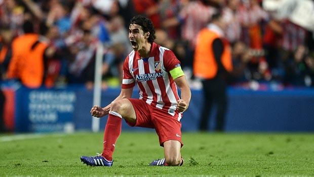 Tiền vệ Tiago của Atletico Madrid