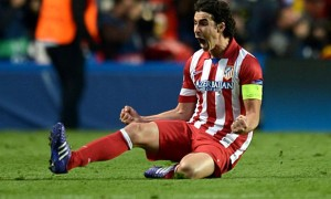Tiền vệ Tiago của Atletico Madrid