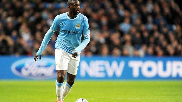 Yaya Toure Bóng Đá Manchester City  Ngoại Hạng Anh
