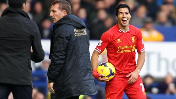 Brendan Rodgers - luis suarez của Liverpool