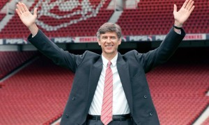 Arsene Wenger New Arsenal Boss