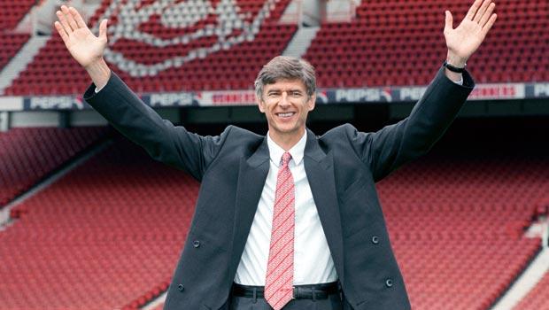 Arsene Wenger New Arsenal Boss