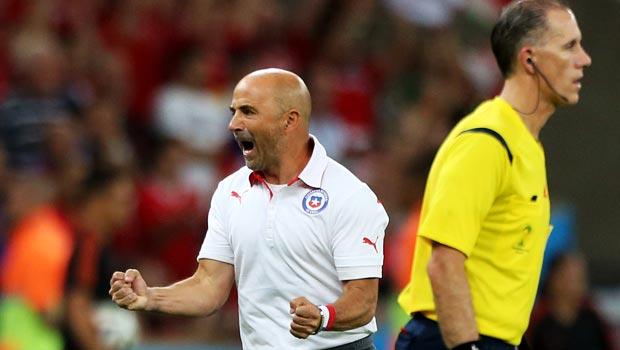 Chile manager Jorge Sampaoli