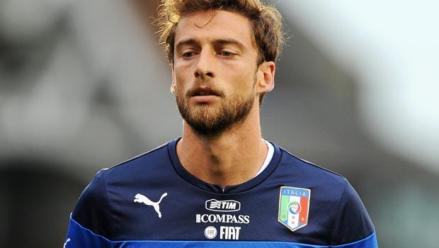 Claudio Marchisio Italy midfielder