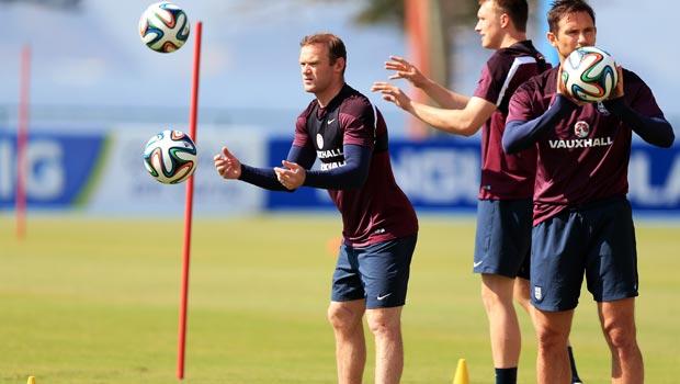 Englands Wayne Rooney World Cup 2014
