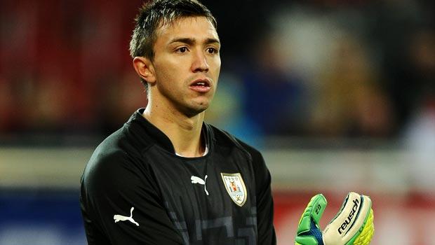 Fernando Muslera Uruguay goalkeeper