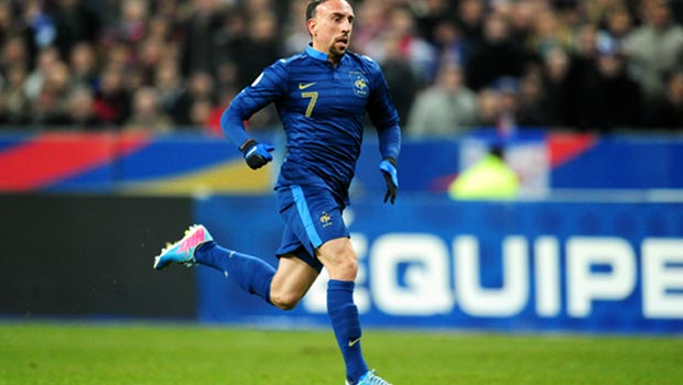 Franck Ribery France World Cup 2014