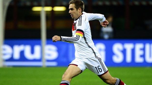 Germany captain Philipp Lahm