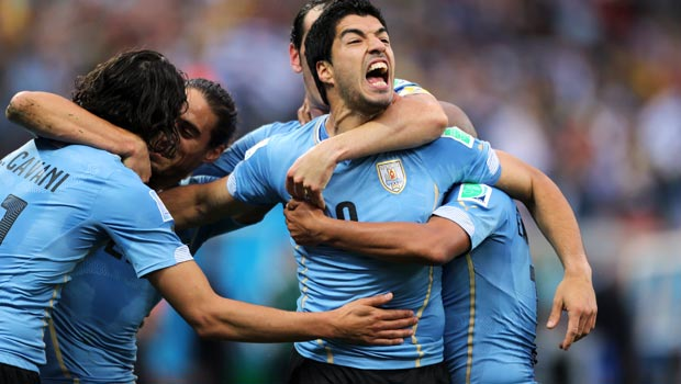 Luis Suarez Uruguay Striker World Cup