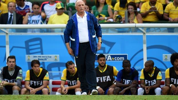 Luiz Felipe Scolari Brazil boss