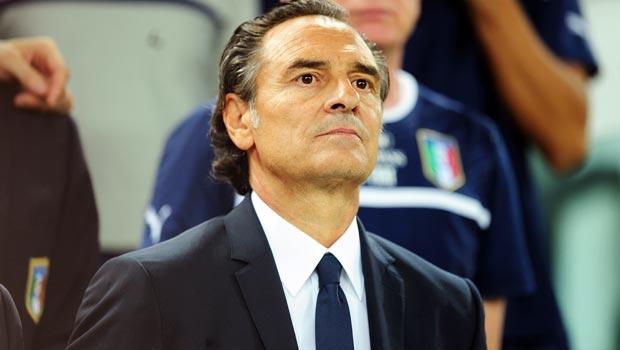 Manager Cesare Prandelli Italy