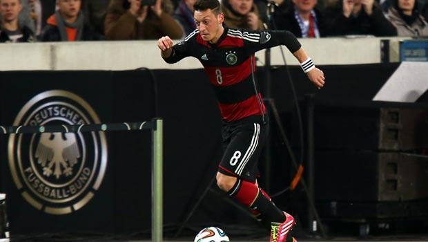 Mesut Ozil Germany World Cup 2014