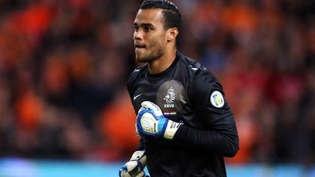 Michel Vorm Netherlands goalkeeper