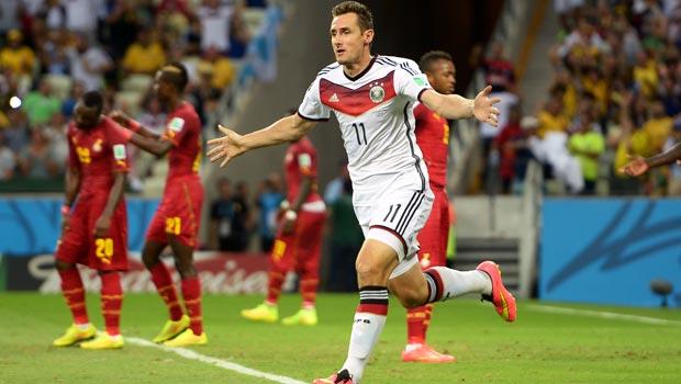 Miroslav Klose Germany v Ghana