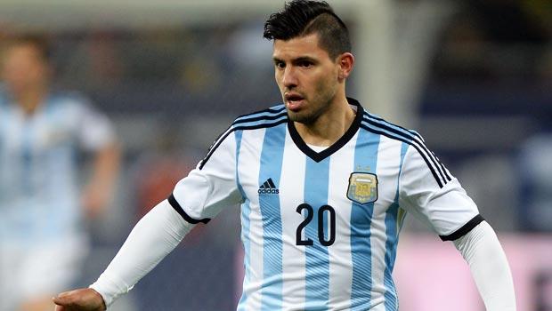 Sergio Aguero Argentina World Cup 2014