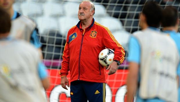 Vicente Del Bosque Spain Coach